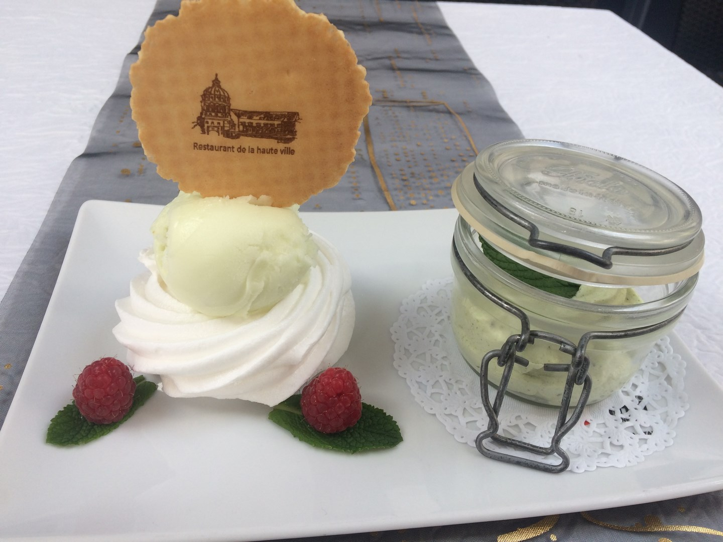 mousse mojitoo et meringue